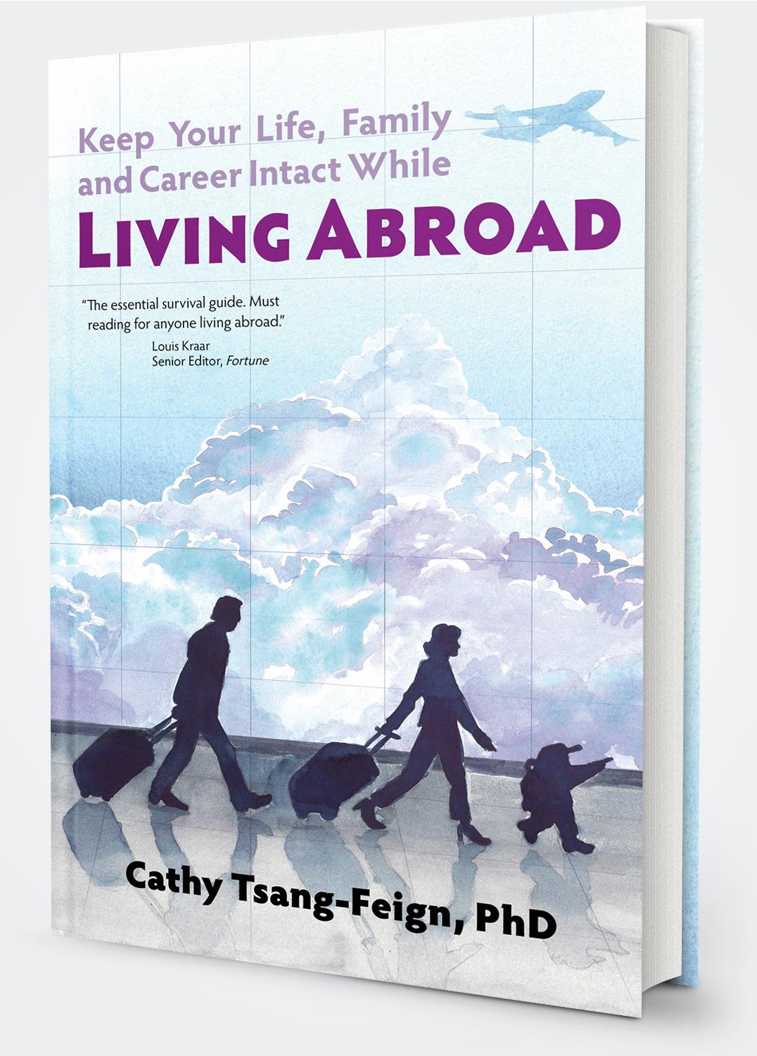 Living Abroad book cover